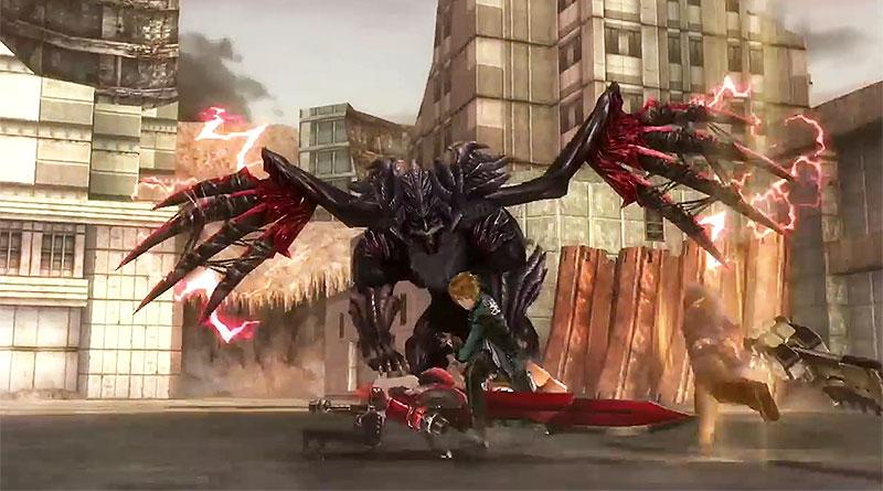 God Eater Resurrection PS Vita PS4 TGS 2015 Trailer