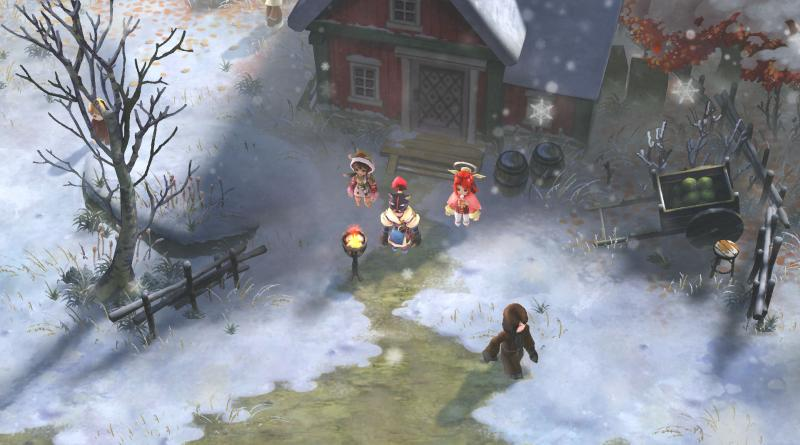 Ikenie to Yuki no Setsuna Project Setsuna PS Vita PS4