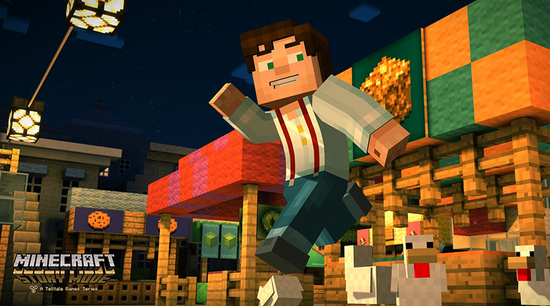 Minecraft: Story Mode PS Vita PS3 PS4