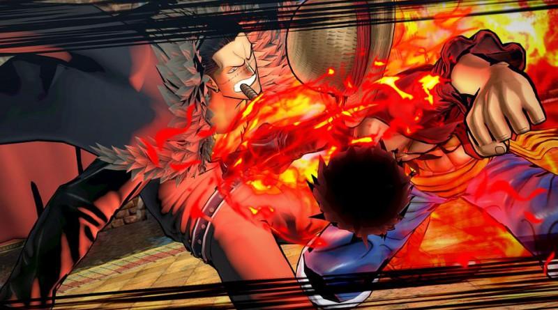 One Piece: Burning Blood PS Vita PS4