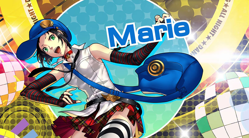 Persona 4: Dancing All Night PS Vita Marie Adachi DLC Character Trailers Screenshots