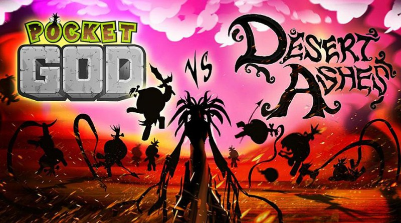 Pocket God vs Desert Ashes PS Vita PS4