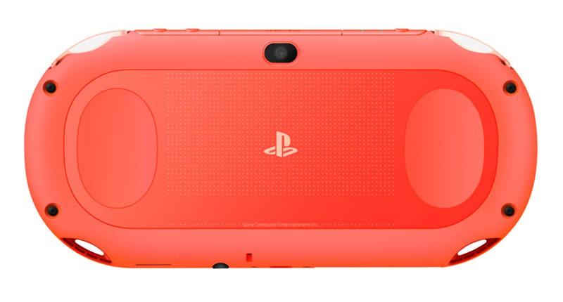 Neon Orange PS Vita