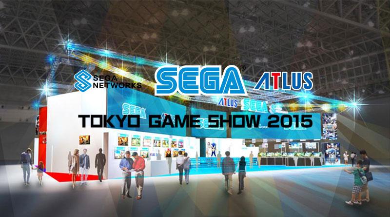Sega's Tokyo Game Show 2015 Live Stream Schedule