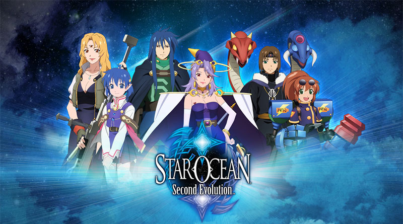 Star Ocean: Second Evolution PS Vita PS4