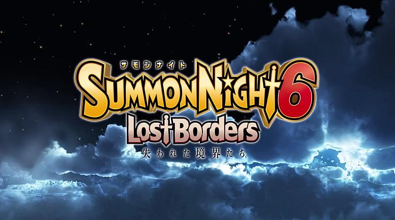 Summon Night 6: Lost Borders PS Vita PS4 Trailer