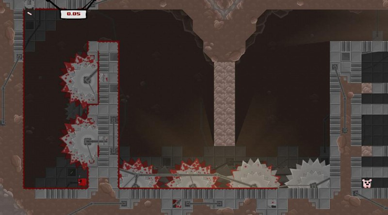 Super Meat Boy PS Vita PS4