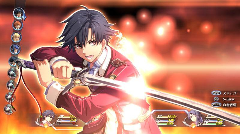 The Legend of Heroes: Trails of Cold Steel PS Vita PS3