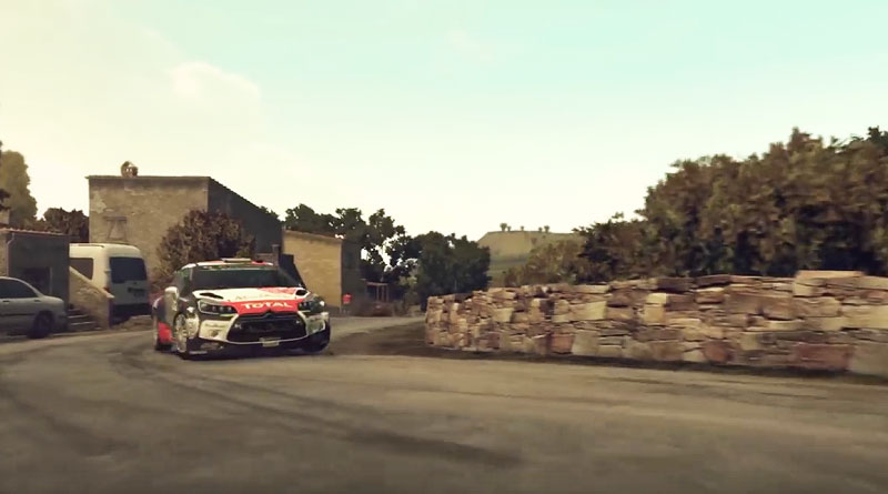 WRC 5 Citroen DS 3 PS Vita PS3 PS4