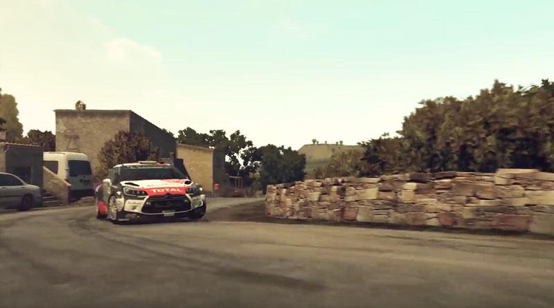 WRC 5 Citroen DS 3 PS Vita PS3 PS4