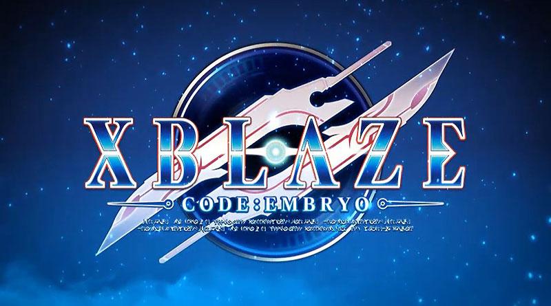 XBlaze Code: Embryo PS Vita PS3