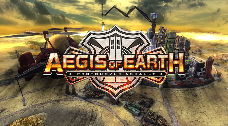 Aegis of Earth: Protonovus Assault PS Vita PS3 PS4