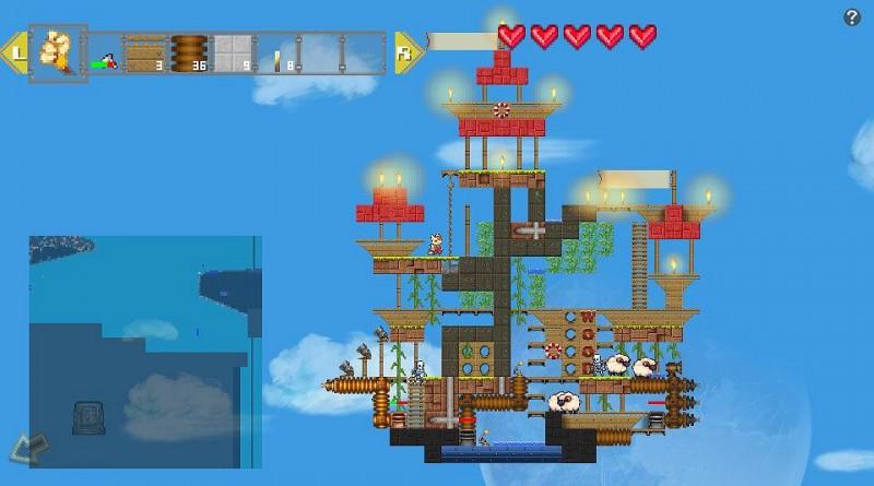 Airship Q PS Vita PS4