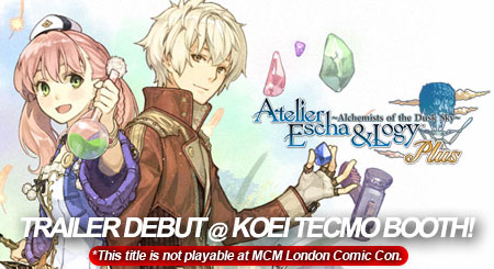 Atelier Escha & Logy Plus: Alchemists of Dusk Sky PS Vita Banner