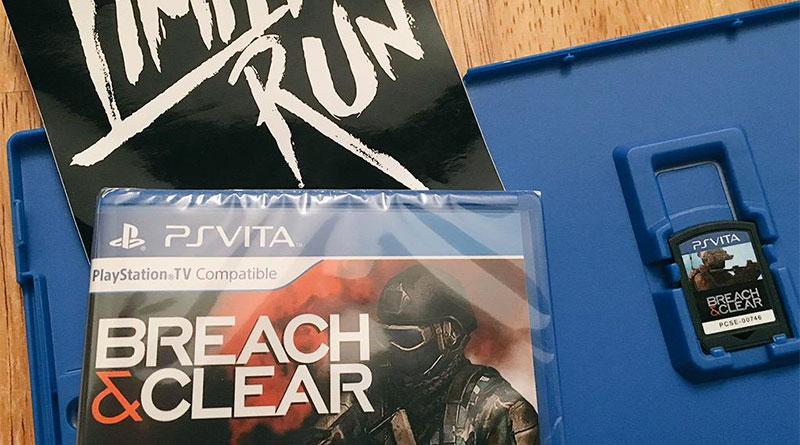Breach & Clear PS Vita Limited Run Games
