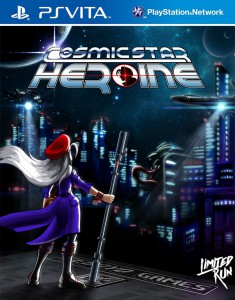 Cosmic Star Heroine PS Vita Box Art Limited Run Games