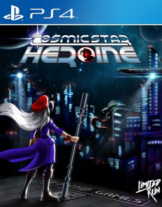 Cosmic Star Heroine PS4 Box Art Limited Run Games