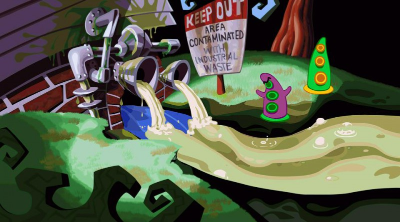 Day of the Tentacle Remastered PS Vita PS4