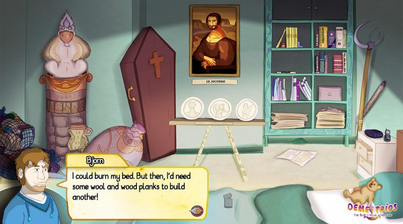 Demetrios - The BIG Cynical Adventure PS Vita
