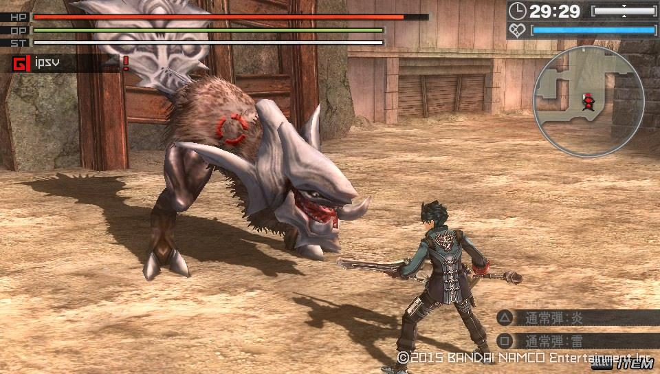 God Eater Resurrection PS Vita PS4