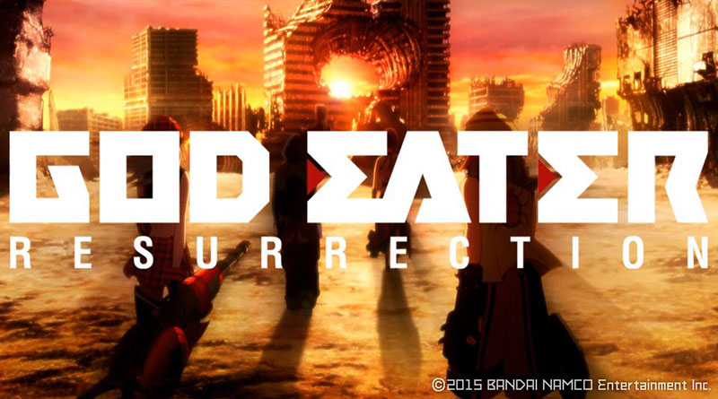 God Eater Resurrection's Opening Movie First PS Vita Gameplay And Screenshots PS4
