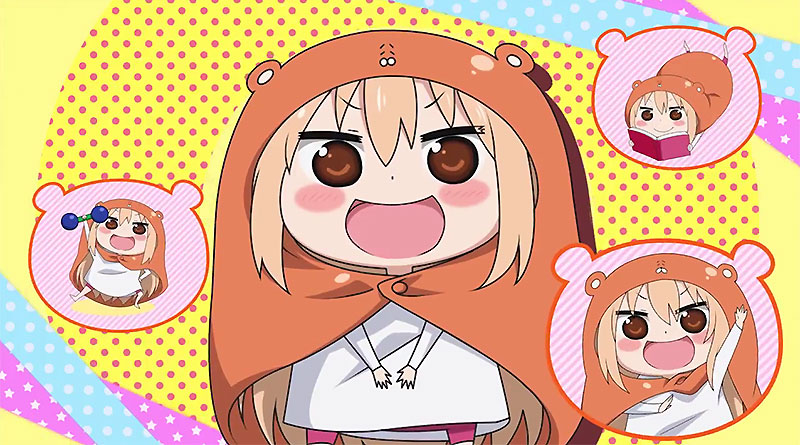 Himouto! Umaru-chan: Umaru Training Plan PS Vita First Trailer New Screenshots Box Art