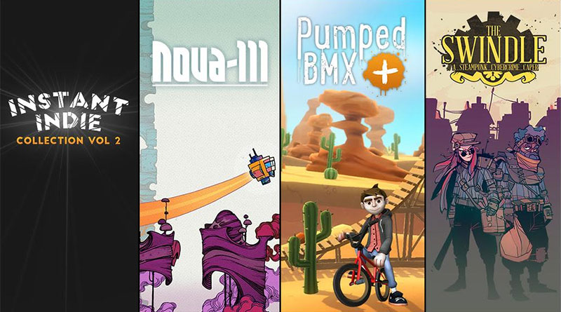 Instant Indie Collection Volume Two The Swindle Pumped BMX + Nova-111 PS Vita PS3 PS4