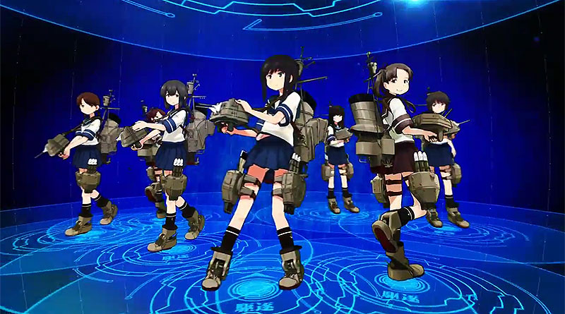 Kan Colle Kai PS Vita Second Trailer Releases February 18, 2016
