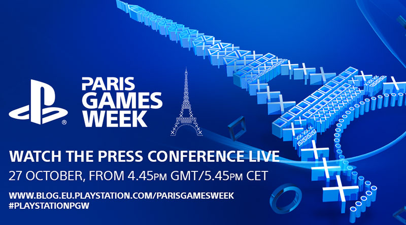 Paris Games Week PlayStation Press Conference Live Stream