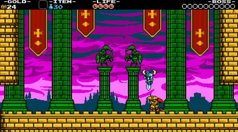 Shovel Knight PS Vita PS3 PS4