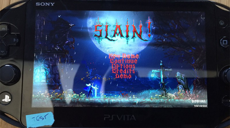Slain! PS Vita