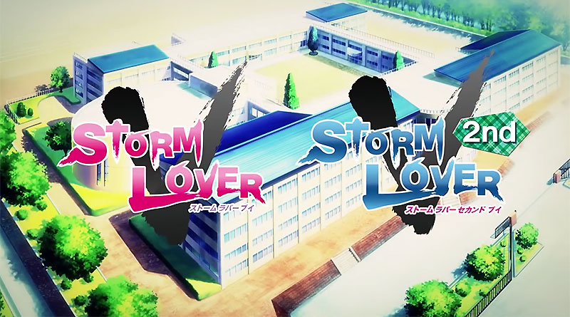 Storm Lover V Storm Lover 2nd V PS Vita Japan