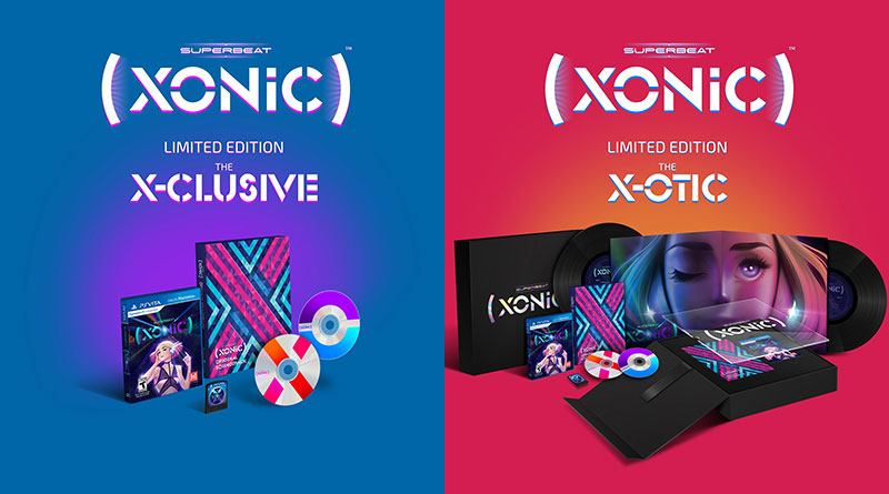 Superbeat: XONiC PS Vita Limited Editions Announced