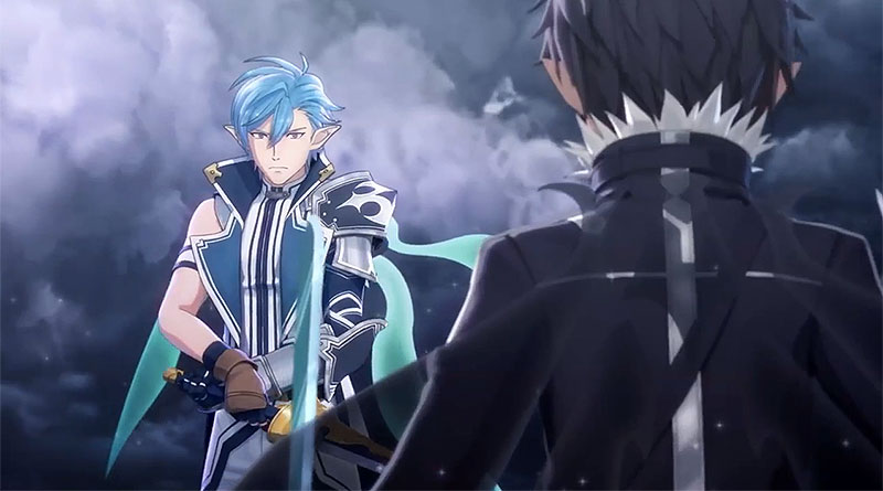 Sword Art Online: Lost Song Mysterious Guild Story Trailer PS Vita PS4