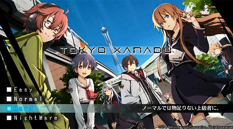 Tokyo Xanadu PS Vita Gameplay Videos