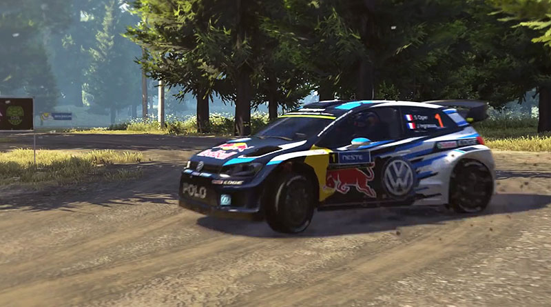 WRC 5 Launch Trailer Featuring The Volkswagen POLO R WRC
