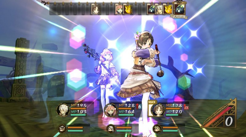 Atelier Escha & Logy Plus: Alchemists of Dusk Sky PS Vita