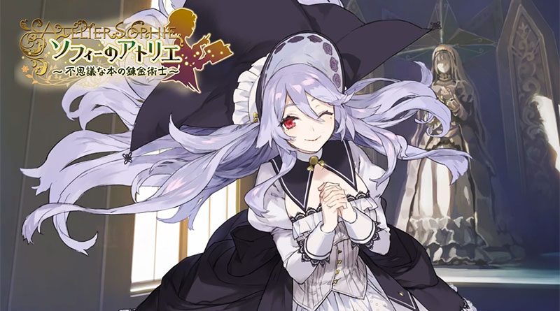 Atelier Sophie: The Alchemist of The Mysterious Book Pamela Character Trailer PS Vita PS3 PS4