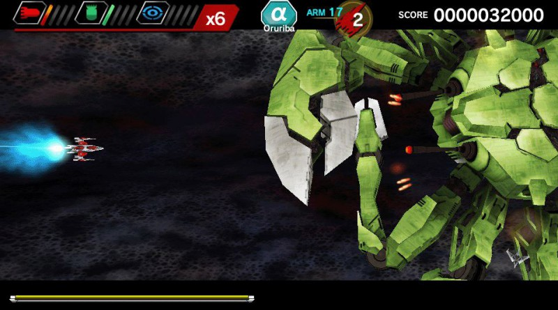 DARIUSBURST Chronicles Saviours PS Vita PS4