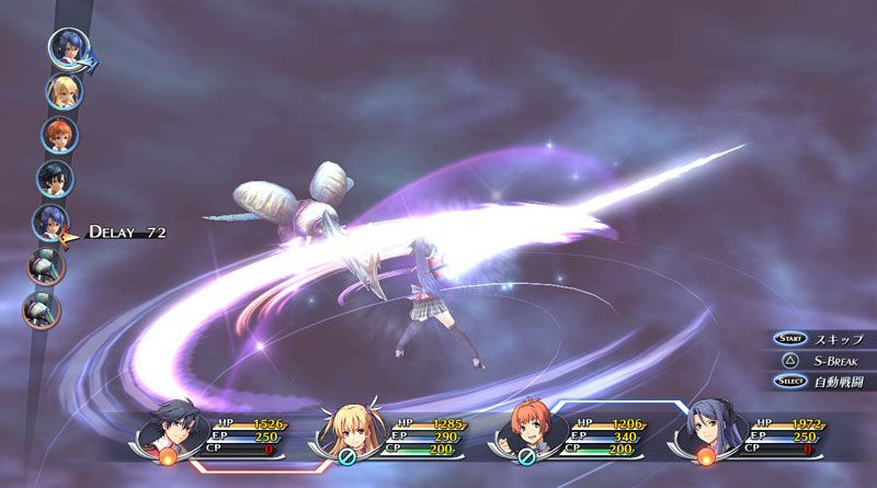 The Legends Of Heroes: Trails Of Cold Steel PS Vita PS3