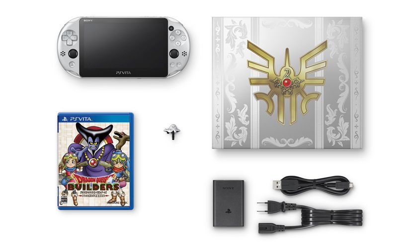 Limited Edition Dragon Quest Metal Slime PS Vita