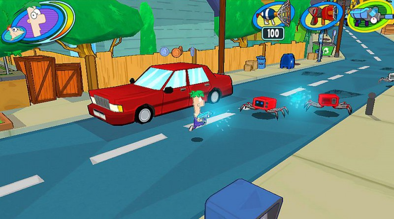 Phineas and Ferb: Day of Doofenshmirtz PS Vita