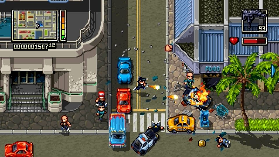 Shakedown Hawaii PS Vita PS4