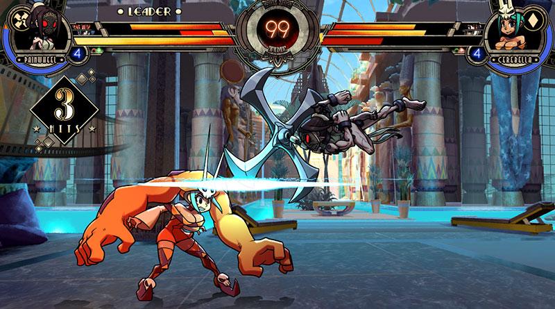 Skullgirls 2nd Encore PS Vita PS4