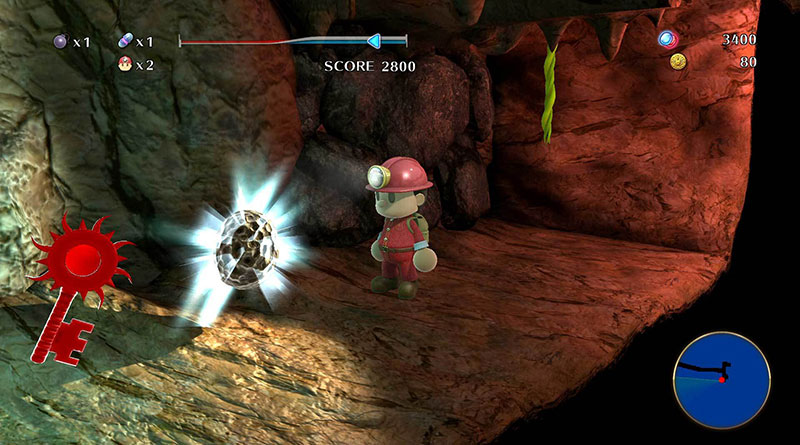 Spelunker World PS Vita PS4