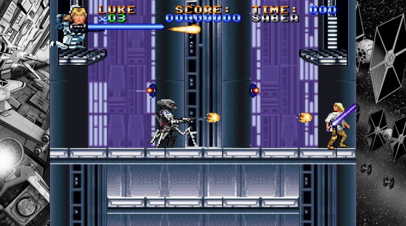 Super Star Wars PS Vita PS4
