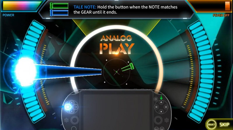 Superbeat: XONiC PS Vita Controls
