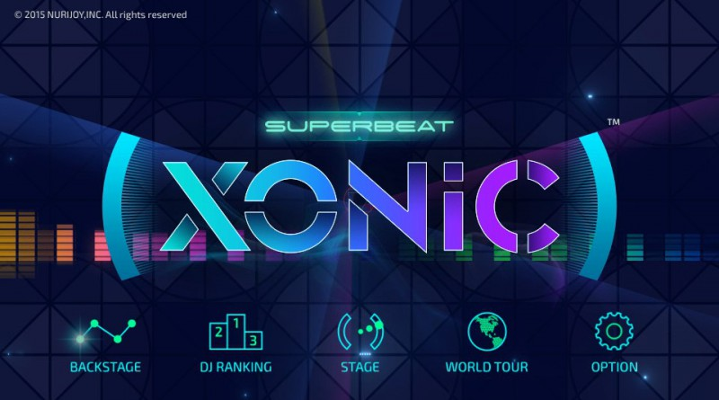 Superbeat: XONiC PS Vita Gameplay
