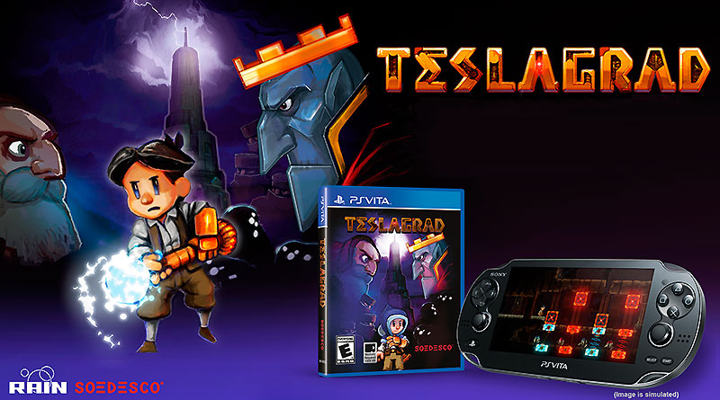 Teslagrad PS Vita North America Europe November Retail Physical Release