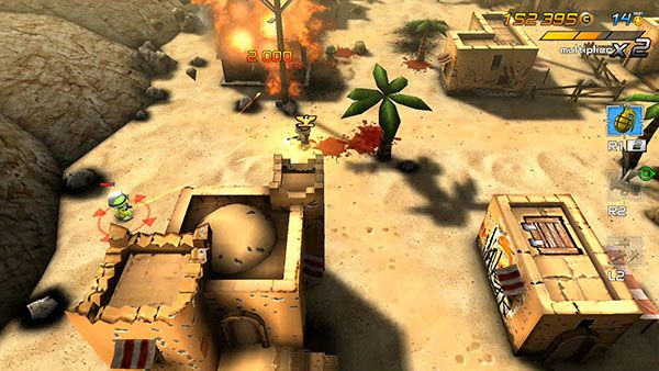Tiny Troopers Joint Ops PS Vita PS3 PS4